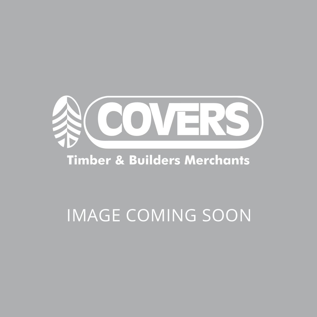 Millboard Bullnosed Standard Step Edge. Smoked Oak. 33mm x 50mm x 3200mm