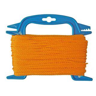 Faithfull Orange Polyethylene Ranging Line 30m