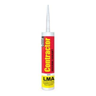 Hansil Contractors LMA White Silicone 300ml