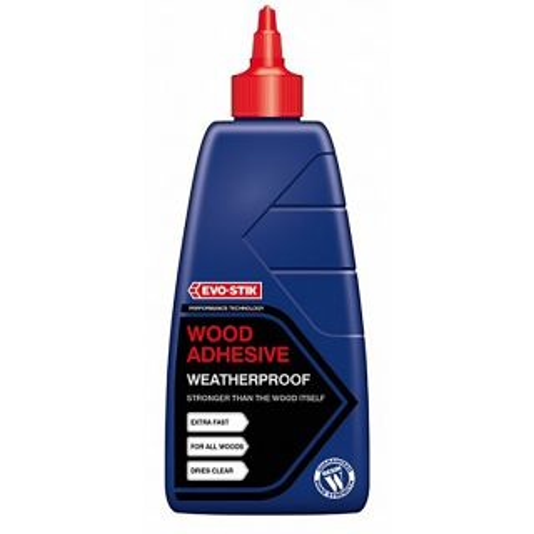 Evo-Stik Resin W Weatherproof Exterior Wood Adhesive 2.5L