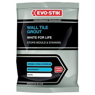 Evo-Stik White for Life Powdered Wall Tile Grout 1.5Kg