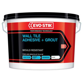 Evo-Stik White for Life Powdered Wall Tile Grout 3Kg