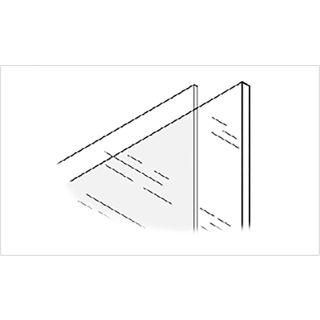Glodex Clear Acrylic Sheet 1220 x 915 x 4mm Pack of 3