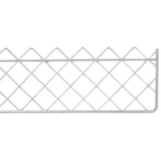 Wire Snowguard Galv 2Mx225mm 9,Description:Fixed to fascia board to stop snow or debris from sliding from roof. Commonly used above conservatories. Panels can be fixed to brackets using either galvanised tying wire or cable ties.
