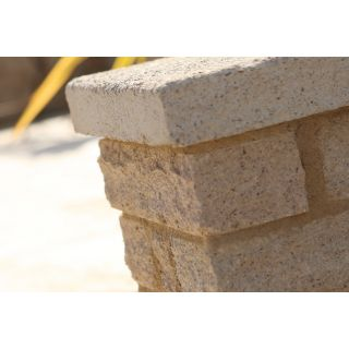 Bradstone Buff Pitched Garden Walling Block