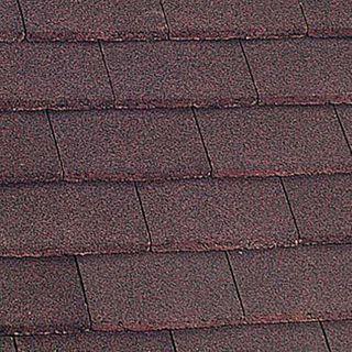 Marley Dark Red Plain Eave Tile