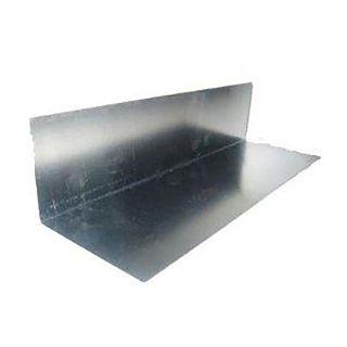 Calder Zinc Soaker 300 x 150mm Gauge-Bent 75 x 75mm