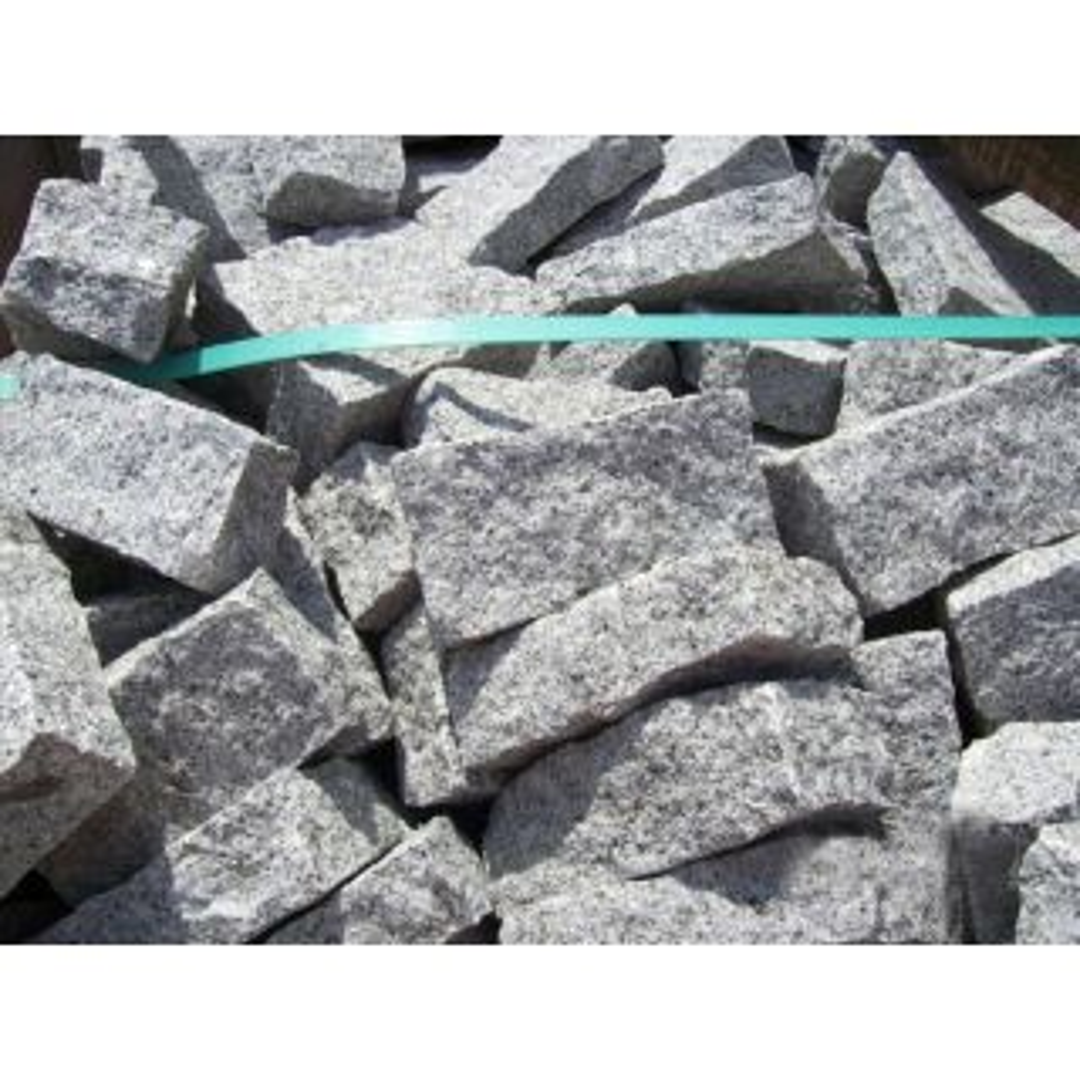 Natural Stone Silver Grey Granite Setts