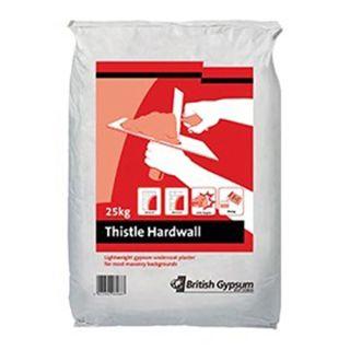 British Gypsum Thistle Hardwall 25Kg