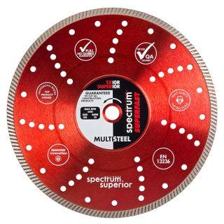 Ox Spectrum Superior Turbo Dia Blade - Multi-Steel - 115/22.23mm