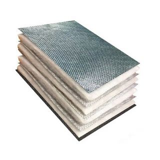 TLX Silver Multifoil Insulation Vapour Barrier (12m2 Rolls)