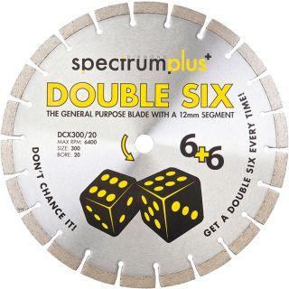 Ox Spectrum Plus Double Six Diamond Blade 300/20mm