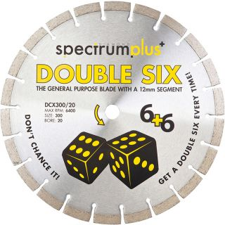 Ox Spectrum Plus Double Six Diamond Blade 230/22.23mm