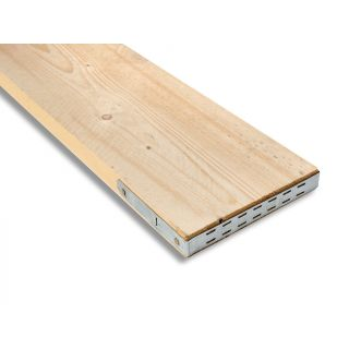 End Banded Scaffold Boards 38mm x 225mm x 3900mm BS2482 Graded