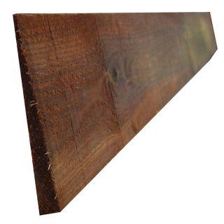 Sawn Featheredge Weatherboard Brown Treated 150 x 1800mm