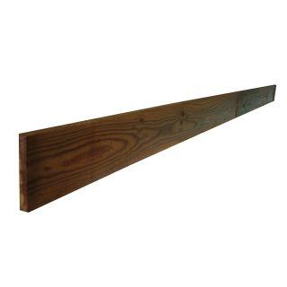 Sawn Brown Treated Gravel Board 22 x 150 x 3000mm