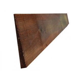 Sawn Featheredge Fence Quality Brown Treated 150mm x 4.8m