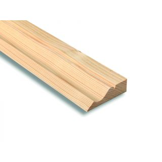 Softwood Ogee Architrave 25 x 75mm (Fin. Size: 21 x 69mm)