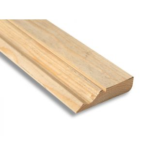 Softwood Ogee & Pencil Round Skirting 25mm x 100mm