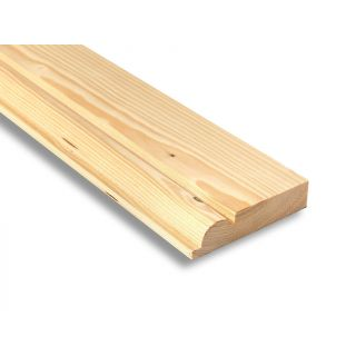 Softwood Torus Skirting 25mm x 100mm (FIN: 21mm x 94mm)