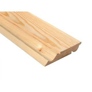 Softwood Reversible Ogee/Torus Skirting 25mm x 125m