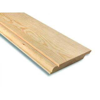 Softwood Reversible Ogee/Torus Skirting 25mm x 150mm