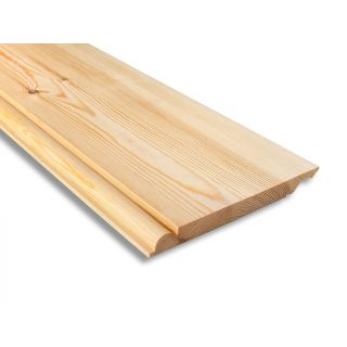 Softwood Reversible Ogee/Torus Skirting 25mm x 225mm