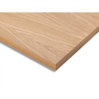 Oak Veneered Crown Cut 2 Sided MDF 26 x 2440 x 1220mm