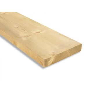 Sawn Treated Carcassing Timber C16 47 x 225mm (Fin. Size: 45 x 220mm)
