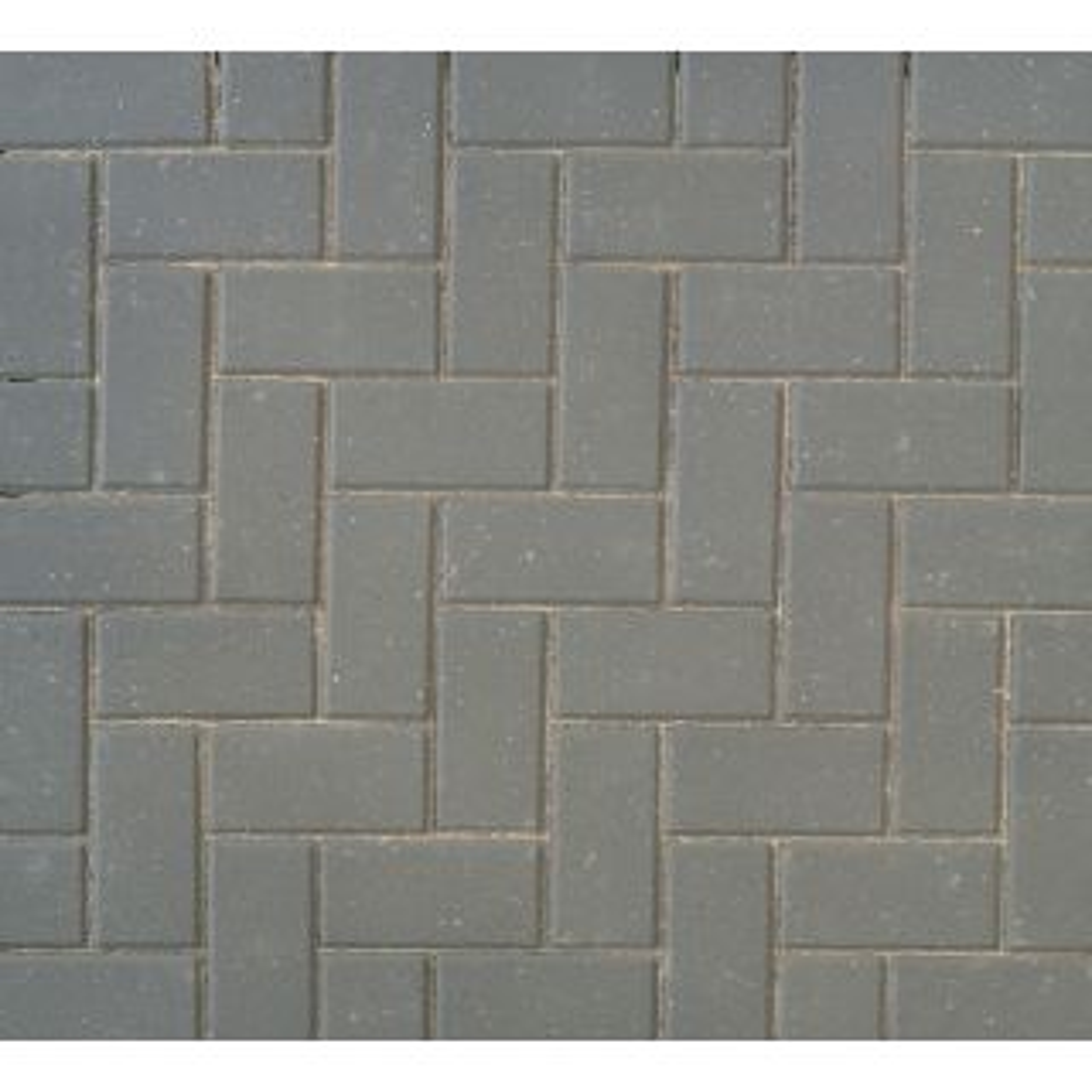 Brett Omega Charcoal Block Paving 200 x 100 x 50mm - 488 Per Pack