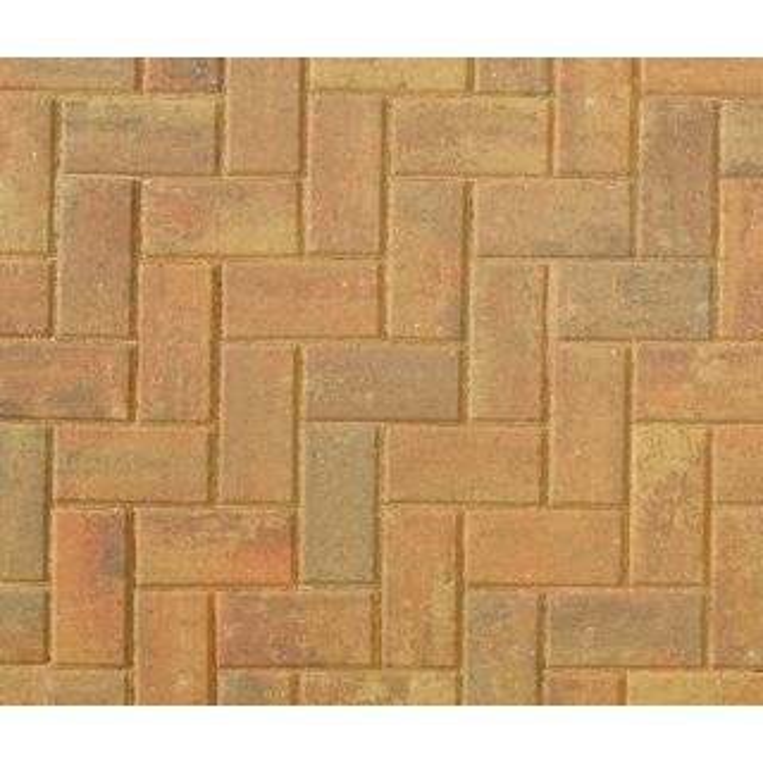 Brett Omega Autumn Gold Block Paving 200 x 100 x 60mm - 404 Per Pack