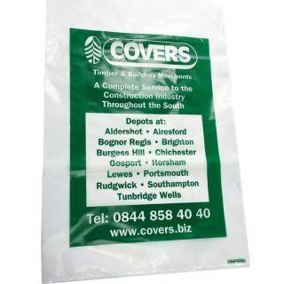 Covers Poly Rubble Sack 550 x 860mm x 100mu