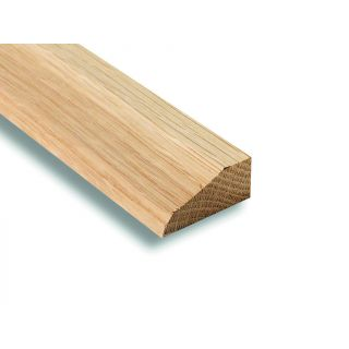 American White Oak Chamfered & Round Architrave 25 x 50mm