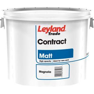 Leyland Trade Contract Matt Emulsion Magnolia 10L