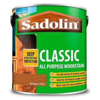 Sadolin Antique Pine Classic Wood Stain 2.5L