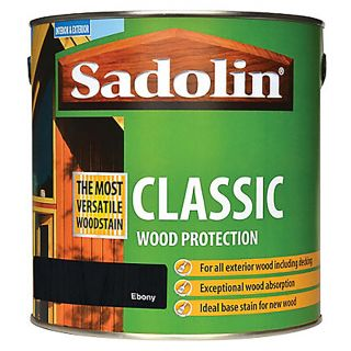 Sadolin Classic Wood Stain Ebony 2.5L