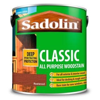 Sadolin Classic Wood Stain Redwood 2.5L