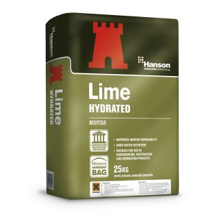 Hanson Castle Hydrated Lime 25Kg