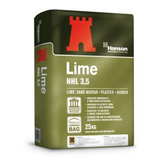 Hanson Castle Hydrated Lime NHL 3.5 25Kg