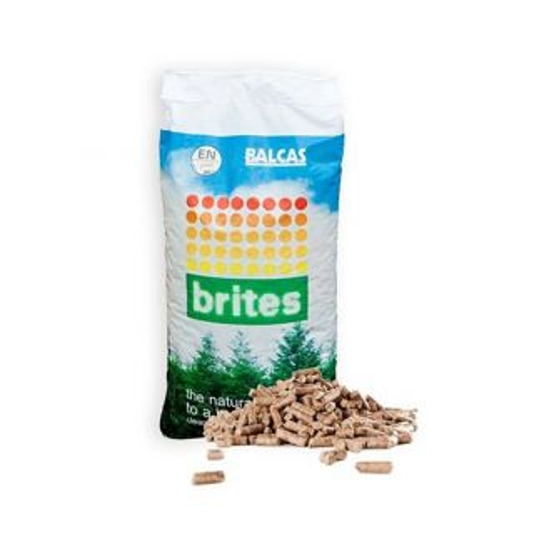 Balcas Brites Wood Pellets 10Kg