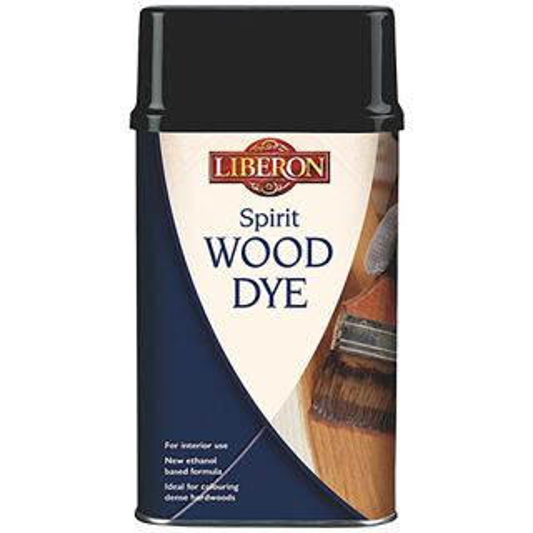 Liberon Spirit Wood Dye Ebony 250ml