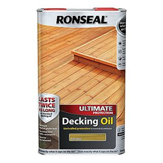 Ronseal Ultimate Protection Natural Decking Oil 5L