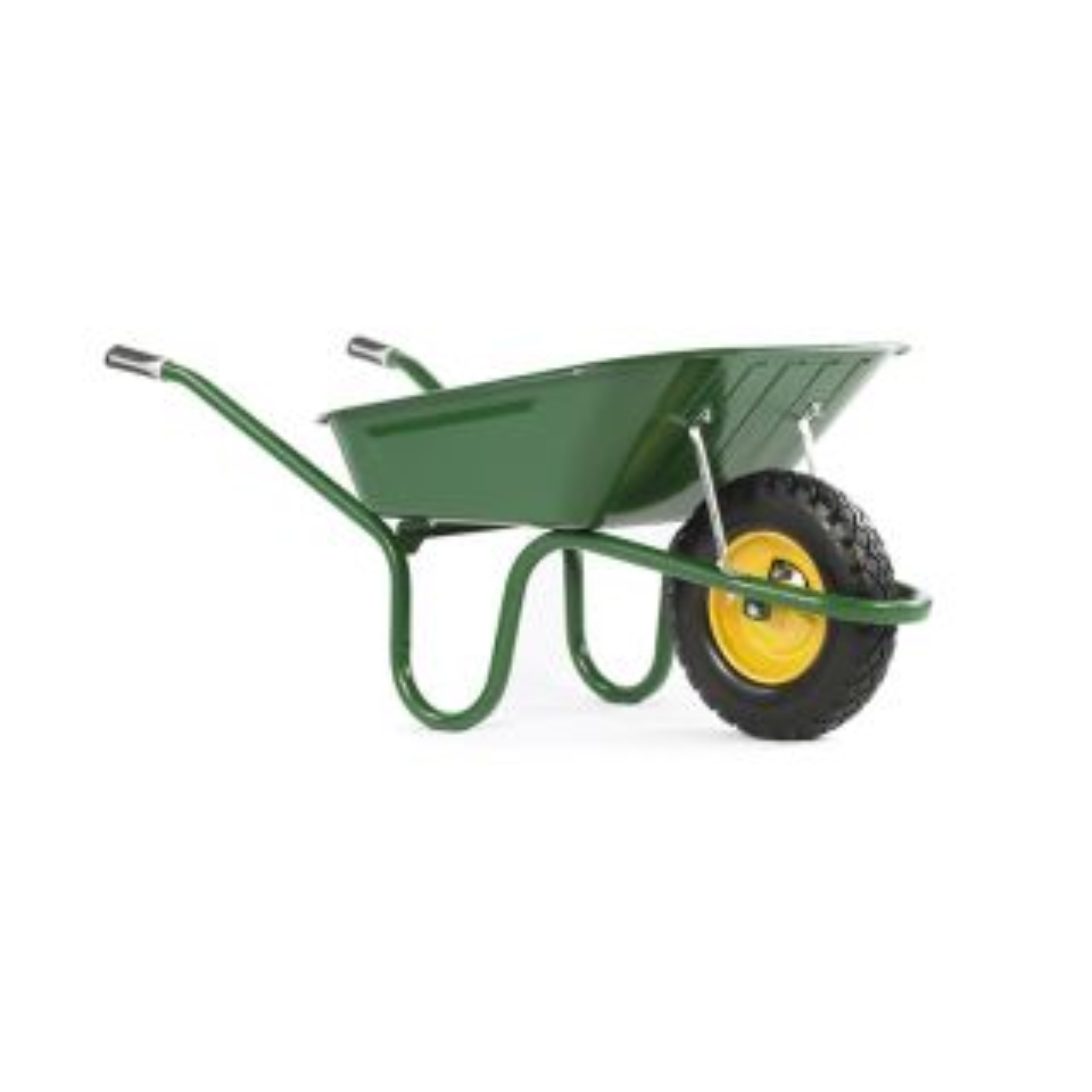 Haemmerlin Original Green Puncture Free Wheelbarrow 90L