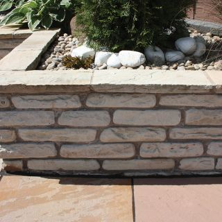 Global Stone Old Rectory Mint Walling 270 x 100 x 55 - 75mm 225 Per Pack
