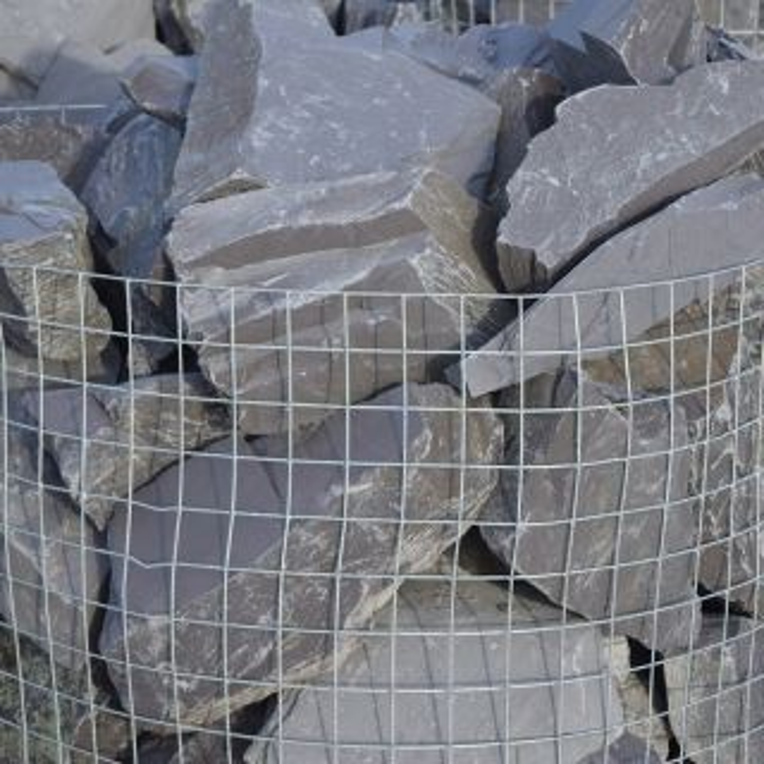 LRS Plum Slate Rockery Stone 250mm
