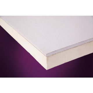 Ecotherm Insulated Plasterboard Eco-Liner PIR 2400 x 1200 x 62.5mm