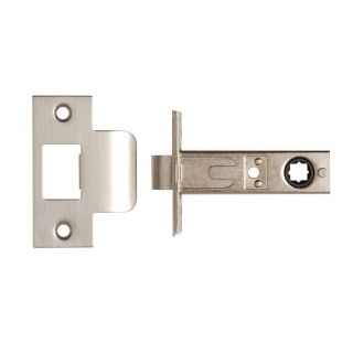 Dale Hardware Nickel Plated Tubular Mortice Latch 76mm