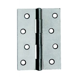 Dale Satin Chrome Butt Hinges - Pack of 3