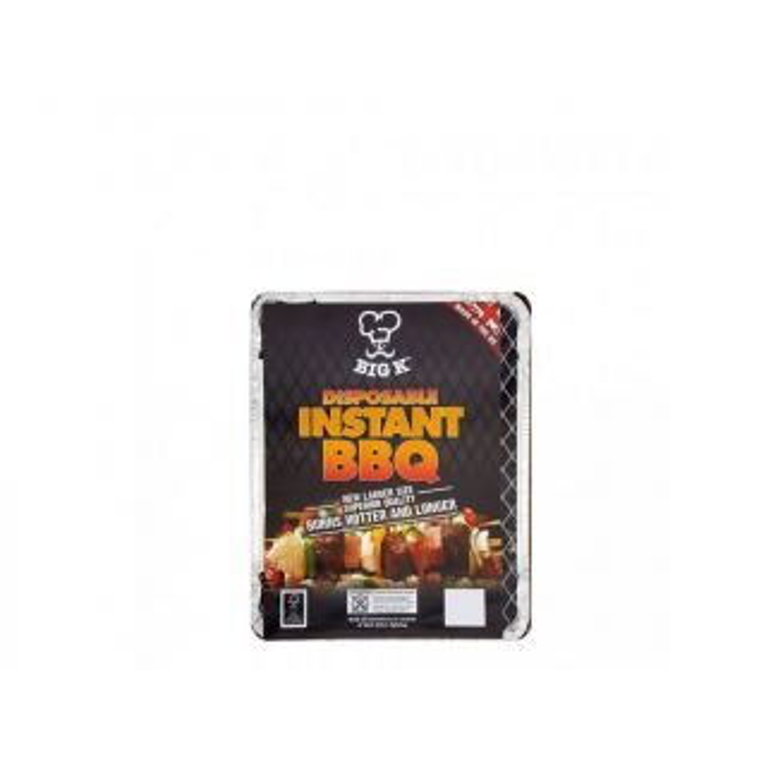 Big K Disposable Instant BBQ