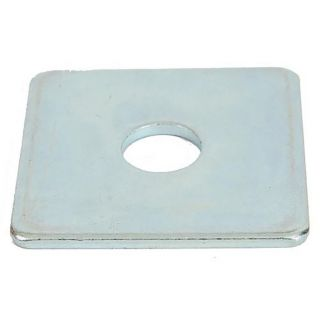 Square Plate BZP Washers M10 - Pack of 10